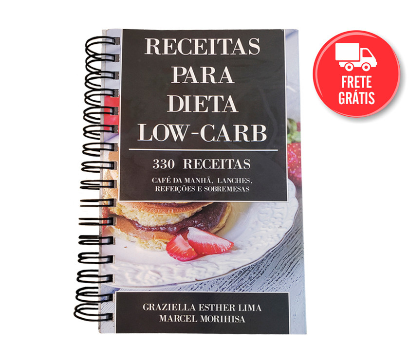 livro de receitas low carb - metabolismo na dieta low carb