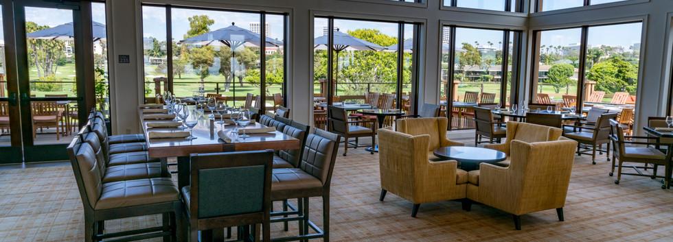 Newport Beach Country club dining
