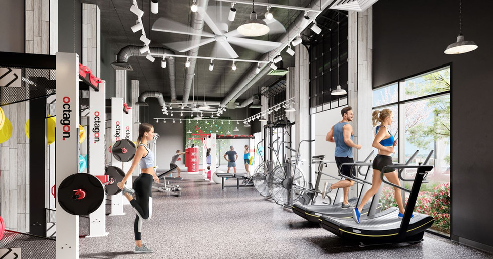 Park Lane Reds Experience Reno fitness