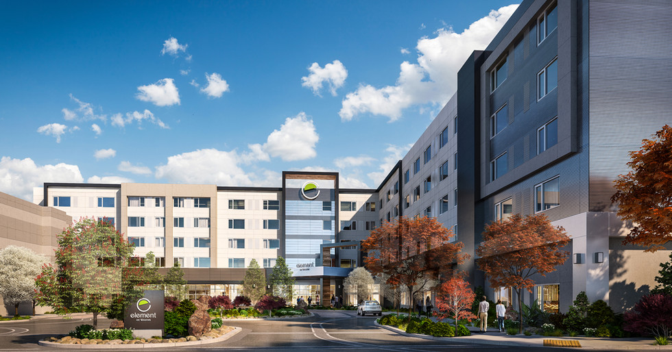 Park Lane Reds Experience Reno Element Westin Hotel Entry