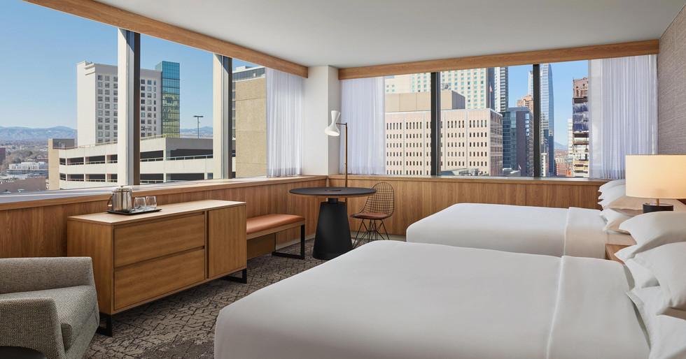 Marriott Sheraton Denver Colorado Queen