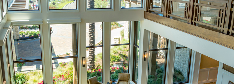Newport Beach Country club lobby