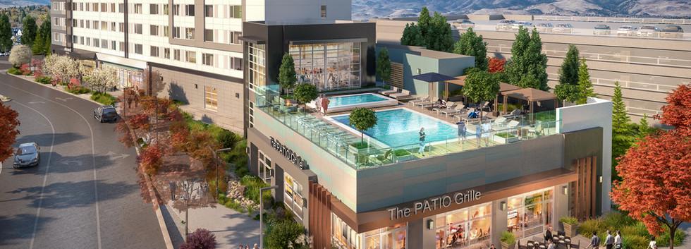 Park Lane Reds Experience Reno Element Westin Pool