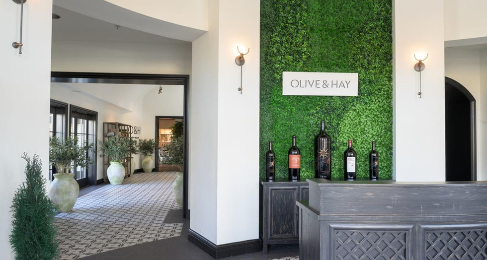 Olive Hay Meritage Resort Spa Restaurant Napa