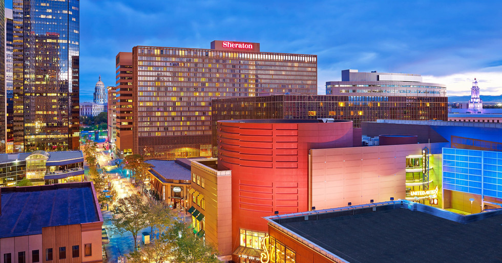 Marriott Sheraton Denver Colorado Exteri