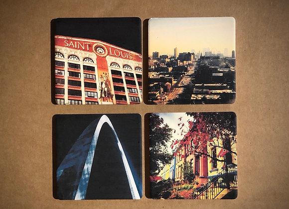 St. Louis Stone Coasters
