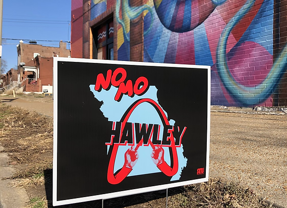 No MO Hawley Yard Sign