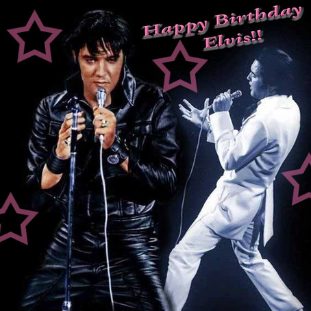 Happy Birthday Elvis Giveaway!!