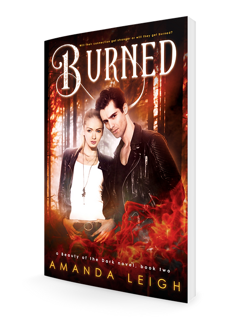 Burned (a Beauty of the Dark novel, book two)