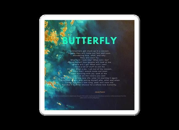 """""""Butterfly"""" Bubble-free Sticker"""