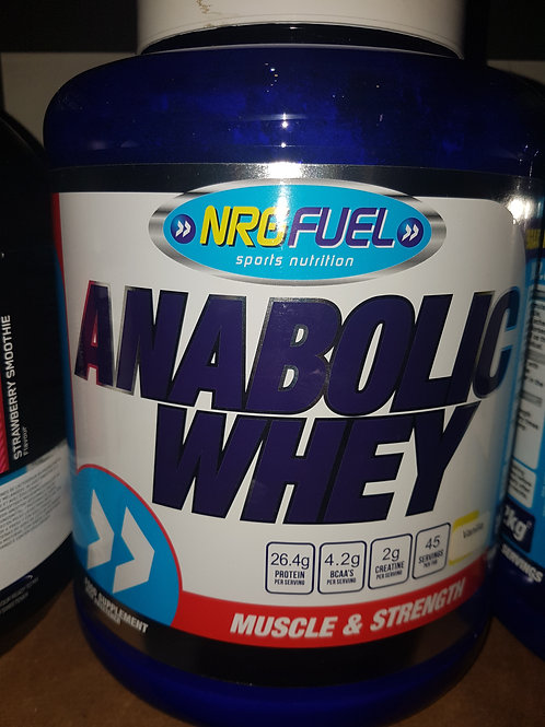 NRG ANABOLIC WHEY 2kg
