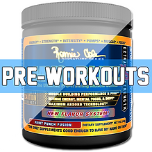 Ultimate Supplements Pre Workouts