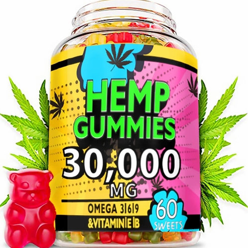 HEMP GUMMIES 30,000MG💥PRICE SLASH WAS £24.99 NOW ONLY £19.99💥