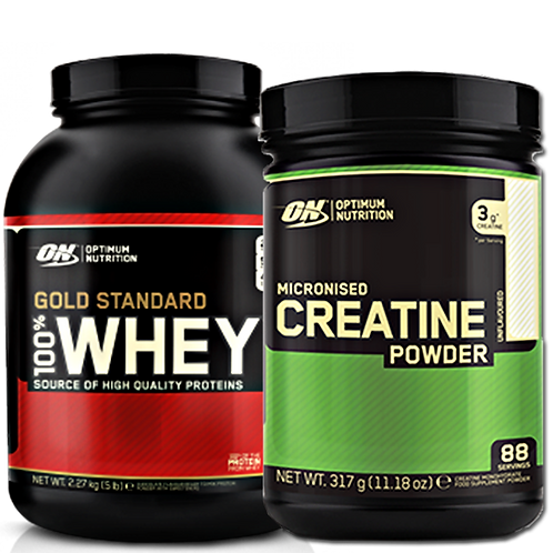 Optimum Nutrition: Gold Standard Whey&Creatine