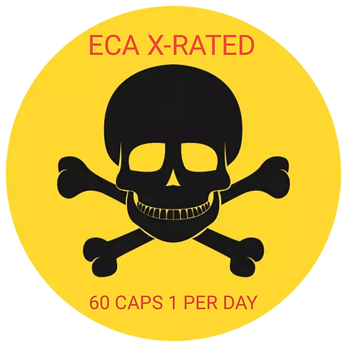 💥ECA X-RATED FAT BURNERS STRONG!!!💥