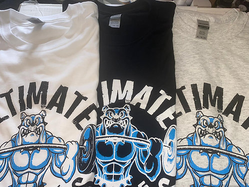 ULTIMATE SUPPLEMENTS NEW LOGO T-SHIRTS