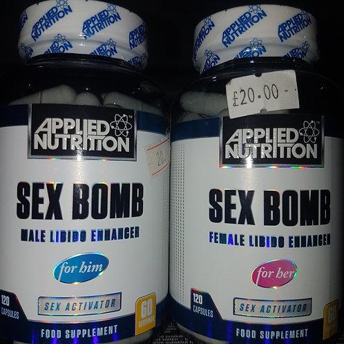 SEX BOMB 60 CAPAULES HIM/HER