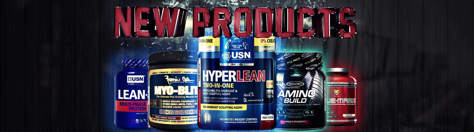 Ultimate Supplements Products-New