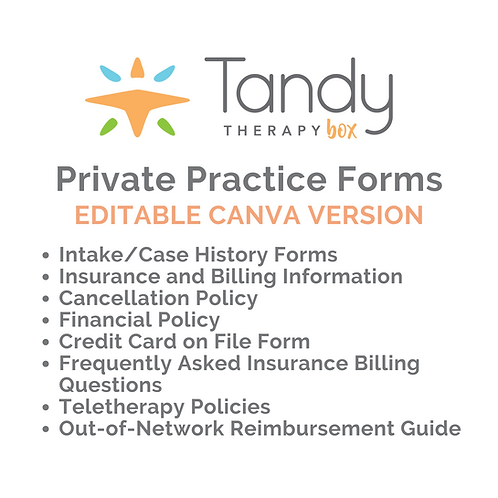 Private Practice Forms - Canva