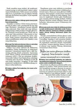 Patrizia Gucci dla Polski
