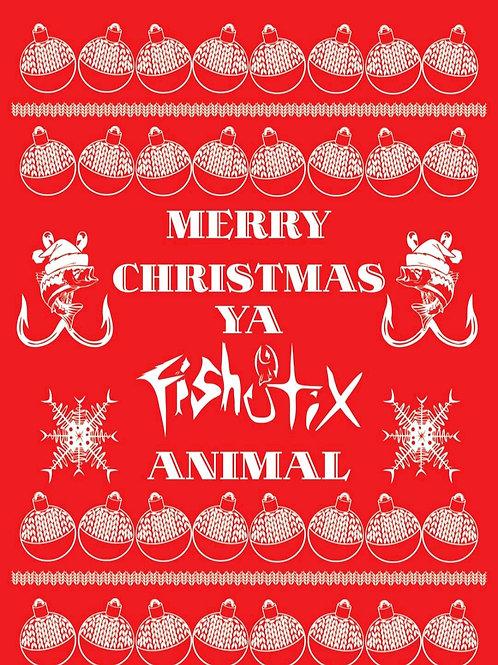 FISHSTIX UGLY CHRISTMAS SHIRT