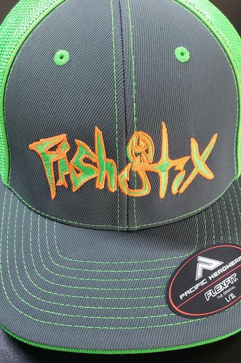 FLEXFIT NEON GREEN HAT