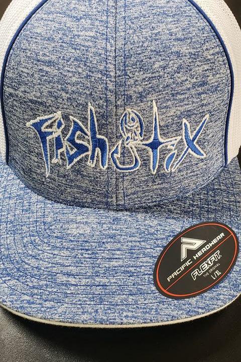 FLEXFIT, HEATHER BLUE HAT