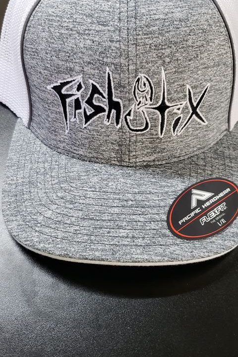FLEXFIT, HEATHER GRAY HAT