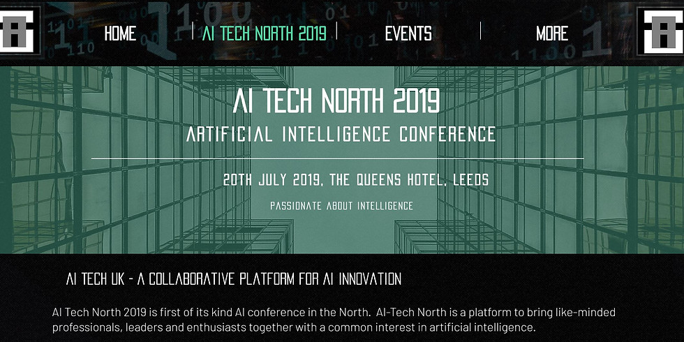 AI TECH NORTH - 2019 - redirected to https://www.aitechnorth.uk/ai-tech-north-2019