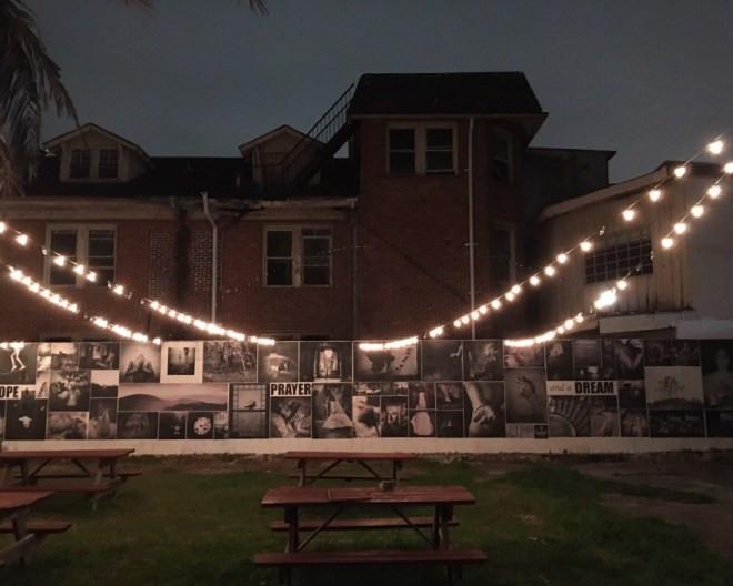 Night Lights on the Wall by Judy Sherrod