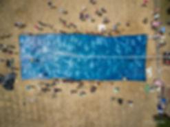 Big Blue Cloth