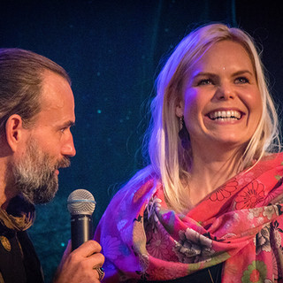 Sanna Björkebaum, Peter Orevi Stockholm Tantra Festival 2018 Foto: Olov Stadell