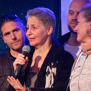 Lyyn Kreaden, Herman Ottosson, Linda Örtengren, Paal Christian Buntz Stockholm Tantra Festival 2018 Foto: Olov Stadell