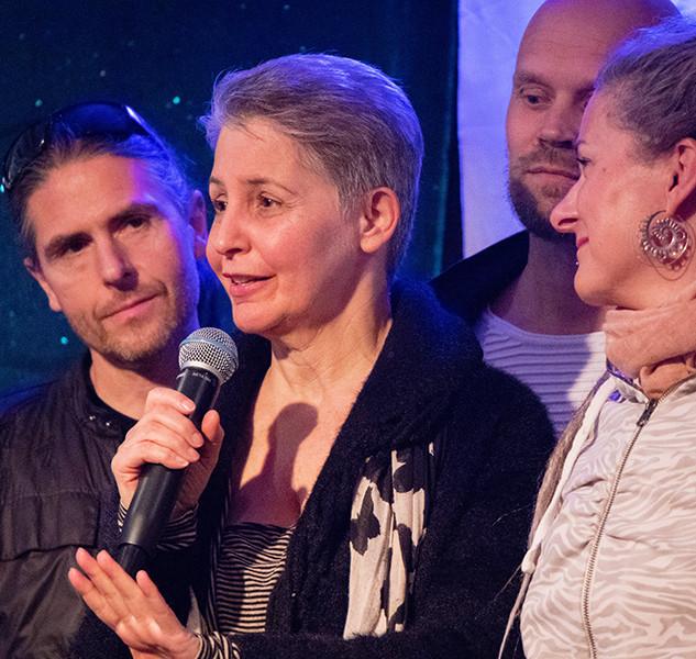 Lynn Kreaden, Herman Ottosson, Linda Örtengren, Paal Christian Buntz Stockholm Tantra Festival 2018 Foto: Olov Stadell