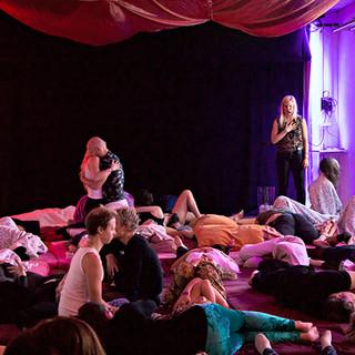Sanna Björkebaum, SannaSessioner Stockholm Tantra Festival 2018 Foto: Olov Stadell