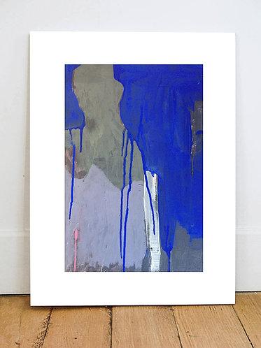 ARMLESS bleu - Impression Fine ART