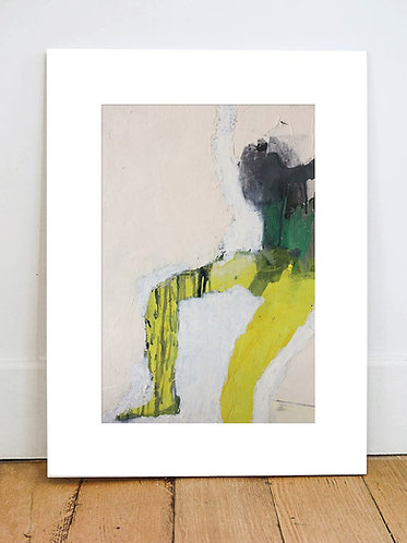 ARMLESS jaune - Impression Fine ART