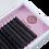 Thumbnail: Черные ресницы Enigma Изгиб M (один размер) 16 линий
