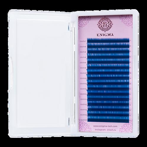Цветные ресницы Enigma Изгиб D (микс) 16 линий