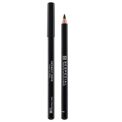 Стойкий карандаш для глаз Midnight Crime BESPECIAL (оттенок Dark chocolate 02)