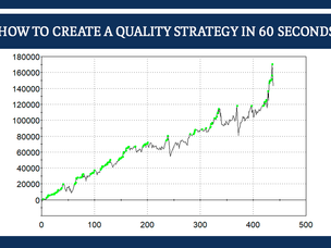 #154: HOW TO CREATE A QUALITY STRATEGY IN 60 SECONDS