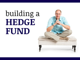 #007: BUILDING A HEDGE FUND #3: IMM (INTELLIGENT MONEY MANAGER)