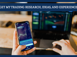 #156: GET MY TRADING RESEARCH, IDEAS, AND EXPERIENCE