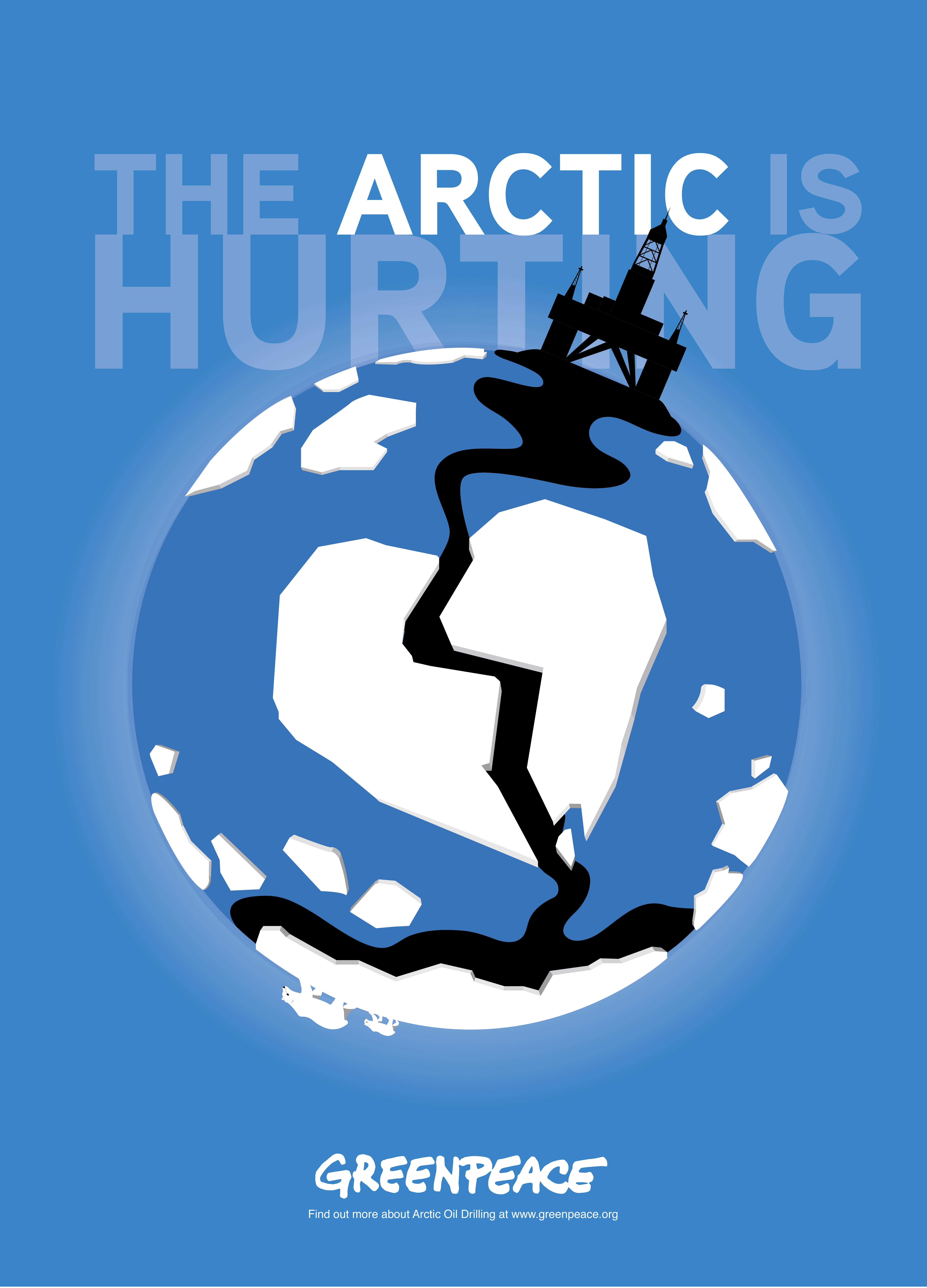 Arctic Poster-Greenpeace