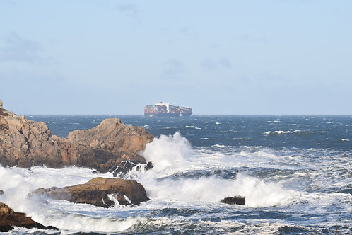 Halifax Container Ship