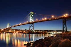 The Macdonald Bridge