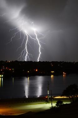 Lightning on Banook Lake, Dartmouth