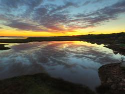 Sunrise at Wolfville, Nova Scotia