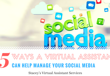 5 Ways a Virtual Assistant Can Help Manage Your Social Media