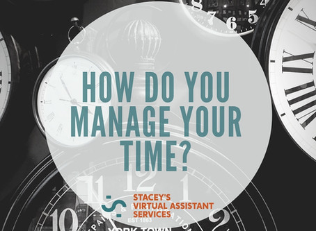 How Do You Manage Your Time?